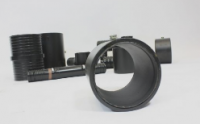 PE100 Black non-potable water pipe